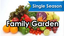 Single Season Family Garden Pack